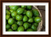Framed Benin, Ouidah, Produce Market Avocados
