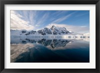 Framed Antarctica, Paradise Harbour and Bay