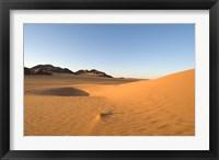 Framed Akakus, Sahara Desert, Fezzan, Libya