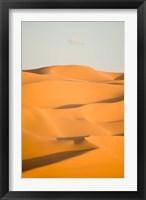 Framed Erg Awbari, Sahara desert, Fezzan, Libya