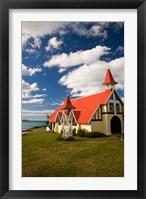 Framed Church, Notre Dame Auxiliaiatrice, Mauritius