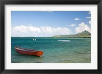 Framed Fishing Boat, Trou D'Eau Douce, Mauritius