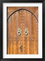 Framed Door in the Souk, Marrakech, Morocco, North Africa