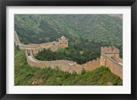Framed Great Wall of China at Jinshanling, China