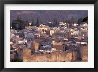 Framed City Walls, Morocco