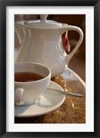 Framed Beverly Hills Hotel Morning Tea, Umhlanga Rocks, Kwazulu Natal, Durban, South Africa