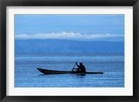 Framed Canoe on Lake Tanganyika, Tanzania