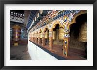 Framed Dzong Entrance, Bhutan