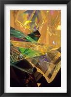 Framed Crystal Sculpture Detail