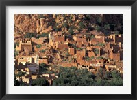 Framed Fortified Homes of Mud and Straw (Kasbahs) and Mosque, Morocco