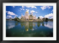 Framed Brunei, Sultan Omar Ali Saifuddin Mosque
