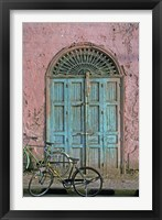 Framed Door in Luxor, Egypt