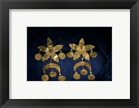Framed Gold Artifacts From Tillya Tepe Find, Six Tombs of Bactrian Nomads