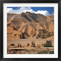 Framed Afghanistan, Bamian Valley, Ancient Architecture