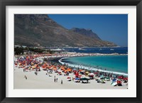 Framed Camps Bay, Cape Town, South Africa