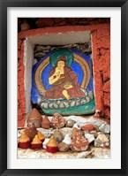 Framed Clay Stupas, Paro, Bhutan