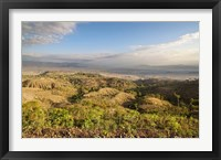 Framed Dry farming on terraces, Konso, Rift valley, Ethiopia, Africa