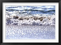 Framed Gently Lapping Surf