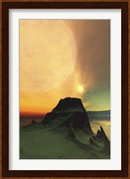 Framed Cosmic landscape on another world