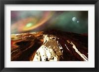 Framed Landscape of an Alien Planet