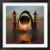 Framed portal to another dimensional world