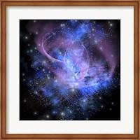 Framed spacial phenomenon in the cosmos
