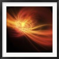 Framed supernova explosion causes a bright gamma ray burst