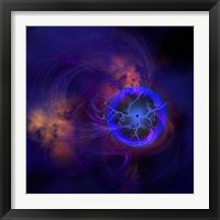 Framed Cosmic forces out in space