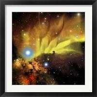 Framed Illustration of the Horsehead Nebula