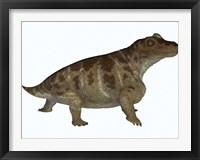 Framed Keratocephalus, a semi-aquatic dinosaur from the Permian Age