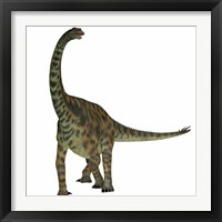 Framed Spinophorosaurus is a sauropod dinosaur from the Jurassic Period