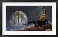 Framed Scorpio is the eighth astrological sign of the Zodiac