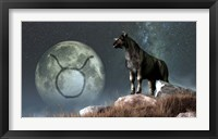 Framed Taurus is the second astrological sign of the Zodiac