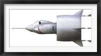 Framed Artist's concept of the experimental VTOL aircraft