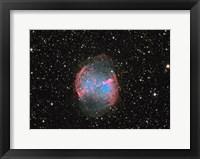 Framed M27 the Dumbbell nebula