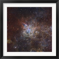 Framed Tarantula Nebula