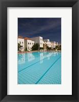 Framed MOROCCO, ESSAOUIRA: Ryad Mogador Hotel Pool
