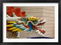 Framed Dragon Head, Goddess of Mercy temple, Hong Kong