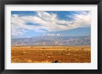 Framed Morocco, Atlas Mountains, landscape
