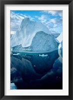 Framed Icebergs and seascapes, Antarctica