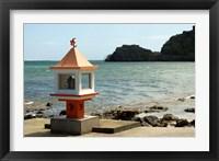 Framed Mauritius, Baie du Cap, Hindu place of worship