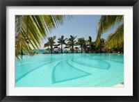 Framed Mauritius, Le Morne. Paradis Hotel and Golf Club