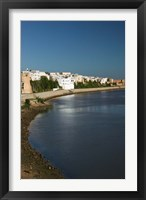 Framed MOROCCO, AZEMMOUR: View from Um, er, Rbia River