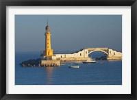 Framed Lighthouse, Alexandria, Mediterranean Sea, Egypt