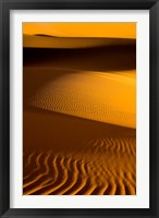 Framed Libya, Fezzan, Desert Dunes of the Erg Murzuq