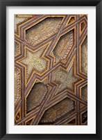 Framed Intricate Ceiling Design, Morocco