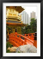 Framed Nan Lian Garden, Hong Kong, China