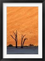Framed Namibia, Namib-Naukluft, Sossusvlei Desert, Dead Vlei