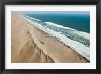 Framed Namibia, Skeleton Coast, Coastline