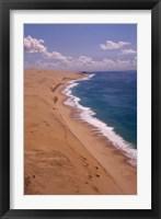 Framed Mozambique, Bazaruto, Benguerra Island, Coastline